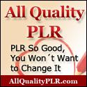 Custom Button for All Quality PLR - Cindy Bidar