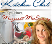 Custom button for Margaret McSweeney Kitchen Chat