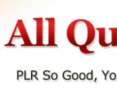 Custom Header for All Quality PLR - www.allqualityplr.com