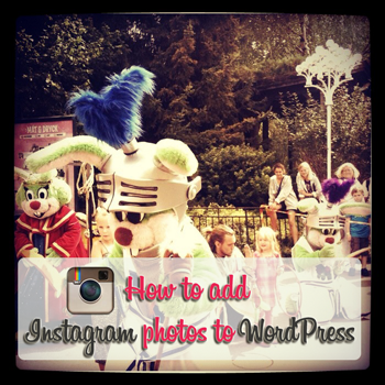 how to instagram to wordpress